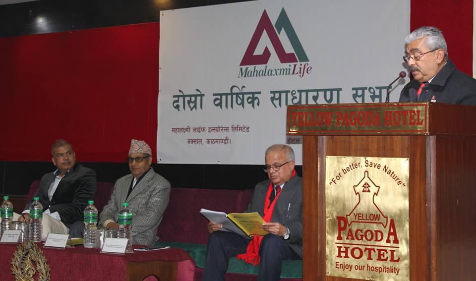 Mahalaxmi Life Insurance has successfully concluded it's 2nd AGM at Kathmandu