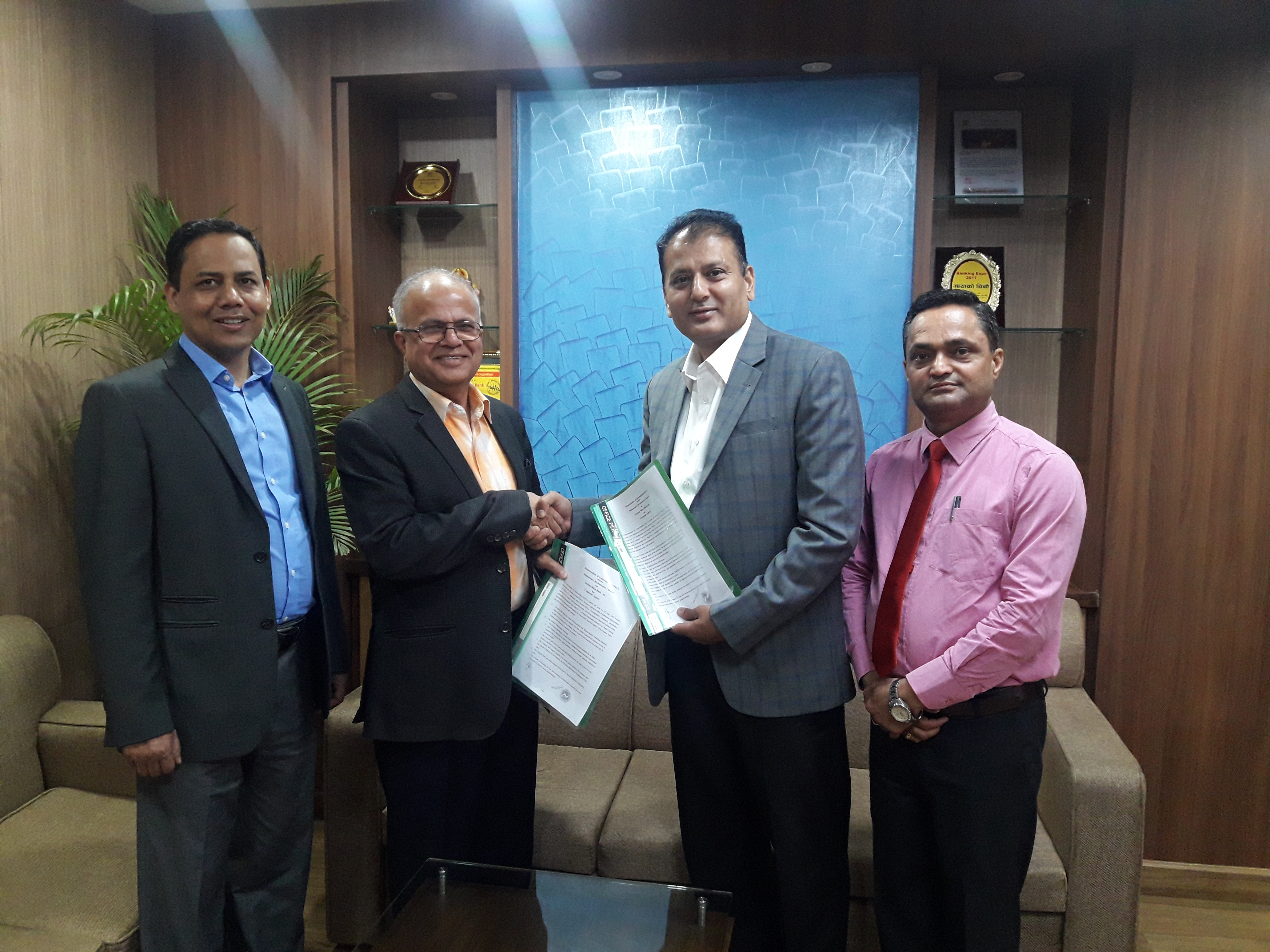 Garima Bikas Bank Ltd. to sell insurance policy of Mahalaxmi Life Insurance Ltd.